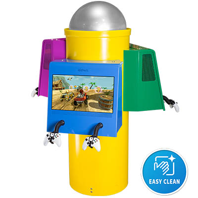 Kidzpace 3-unit Carousel game station