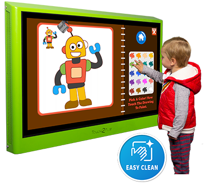 Touch2Play Junior Wall interactive play wall