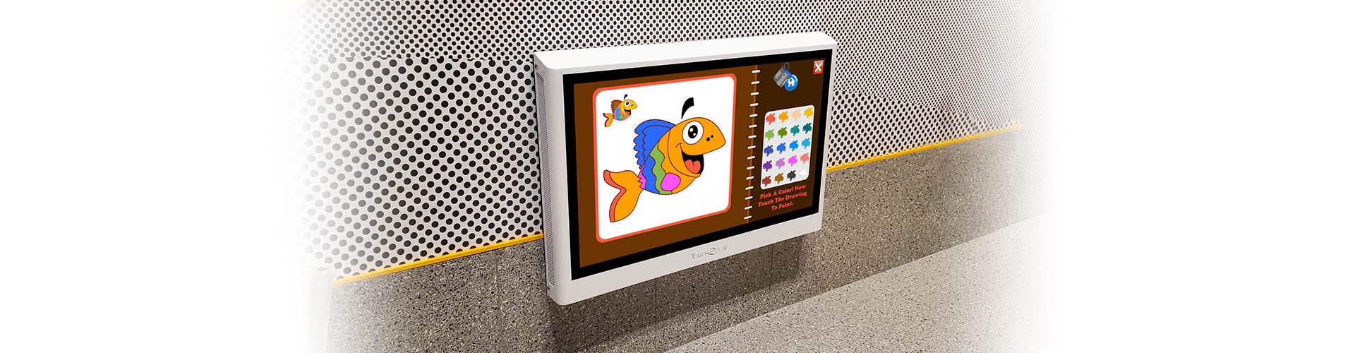 Touch2Play Toddler Play Wall